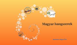 Magyar hangszerek