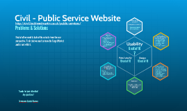 Civil - Public Service Website