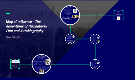 Map of Influence - The Adventures of Huckleberry Finn and Au