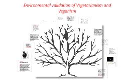 Environmental validation of Vegetarianism and Veganism