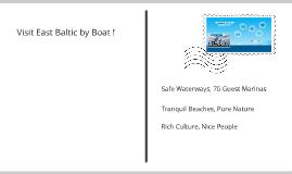 Marketing of east-coast Baltic