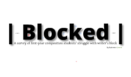 | Blocked |
