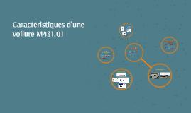 Copy of Caractéristiques d'une voilure M431.01