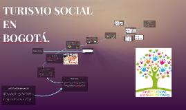 TURISMO SOCIAL EN BOGOTÁ