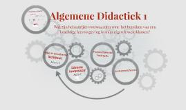 Algemene Didactiek
