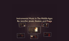 Instrumental Music In The Middle Ages