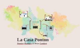 La Casa Ponton