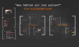 CIA Folterbericht