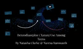 Benzodiazepine ( Xanax) Use Among Teens