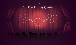 Top Five Disney Quotes