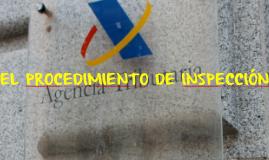EL PROCEDIMIENTO DE INSPECCIÓN