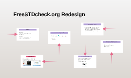 FreeSTDcheck.org Redesign