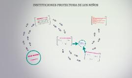 Copy of INSTITUCIONES PROTECTORA DE LOS NIÑOS