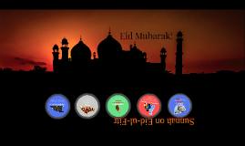 Sunnah of Eid-ul-Fitr