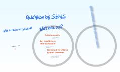 QlikView bij SBNS