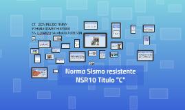 """Copy of exposición titulo """"C"""" NSR 10"""