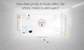 Copy of How does piracy of music affect the artists, creators, and users?