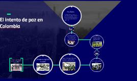 El confilicto armado colombiano