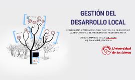 GESTIÓN DEL DESARROLLO LOCAL