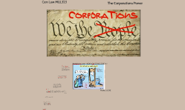 CON Law MLL323 The Corporations Power