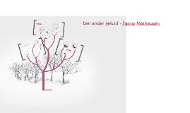 Een ander geluid - Fanny Matheusen