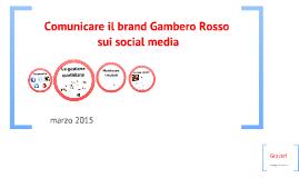 Social Media Gambero Rosso 18 set