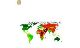 Hoofdstuk 3 Politiek §4 Parlementaire democratie + §3 Landen zonder democratie (H5!)