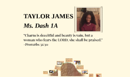 TAYLOR JAMES