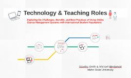 Teaching Roles