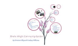 Orville Wright Community Garden