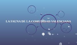 LA FAUNA DE LA COMUNIDAD VALENCIAN