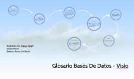 Glosario Bases De Datos - Visio