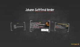 Johann Gottfired Herder
