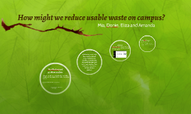 How might we reduce waste?
