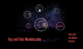Fny and Felix Mendelssohn