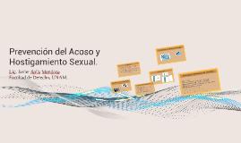 Prevención del Acoso y Hostigamiento Sexual.
