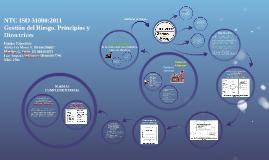 Gestión del Riesgo. Principios y Directrices