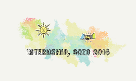 Internship, Gozo 2016