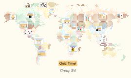 Group 5/6 Big Revision Quiz 1
