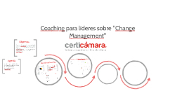 Coaching para líderes sobre Change Management