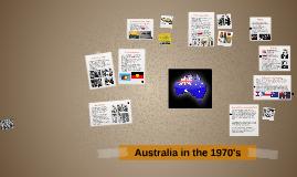 Australia in the 1970s