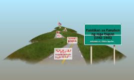 Copy of Panitikan sa Panahon ng mga Hapon