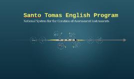 Copy of Santo Tomás English Program