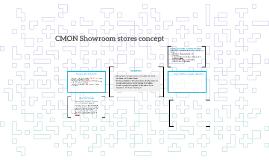CMON Showroom stores concept