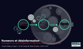 Copy of Rumeurs et désinformation