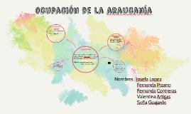 ocupación de la araucanía