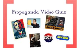 Propaganda Commercials Quiz