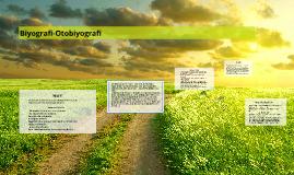 Biyografi-Otobiyografi