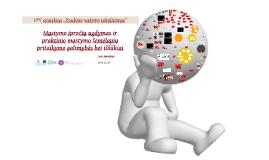 Mąstymo įpročių ugdymas ir praktinio mąstymo žemėlapių pritaikymo galimybės ir iššūkiai
