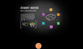 Copy of Sticky Notes